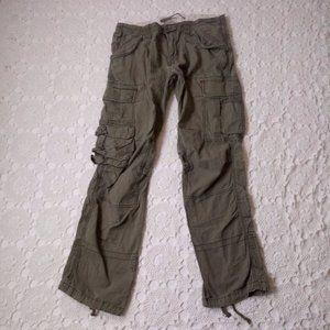 Polo Ralph Lauren 34 x 34 Cargo Pants Army Green